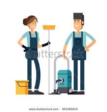 cleaning company vector concept design cleaning stock vector
