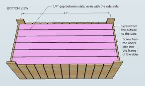 Wood Toy Chest Bench Plans by Ana White Outdoor Storage Bench Diy Projects