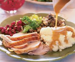 roasted turkey with apple cider thyme gravy finecooking