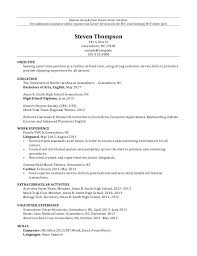 Sample Resume For Subway Sandwich Artist subway resume resume templates