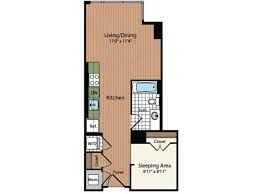 Mount Vernon Floor Plan Apartments For Rent In Washington Meridian At Mt Vernon Triangle