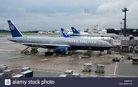 United Airline Stock United Airlines Boeing 777 And Other Aircraft Narita International