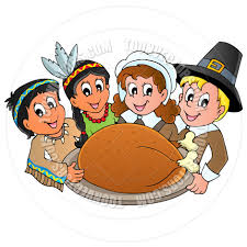 clipart of thanksgiving feast clipartxtras