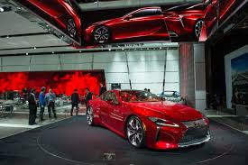 lexus lc 500 auto show north american international auto show 2016 the future is now