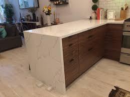 ikea freestanding kitchen sink cabinet small walnut kitchen with ikea and semihandmade