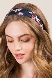 velvet headband muriel floral velvet headband s