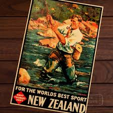 online get cheap vintage window frames aliexpress com alibaba group nz vintage fly fishing poster new zealand view art retro decorative frame poster diy wall home posters home decor gift