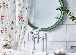 fancy bathroom curtains ikea decorating with shower curtains