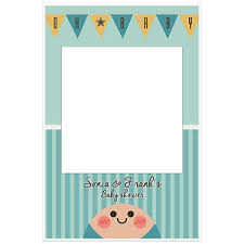 baby shower frames oh baby boy baby shower selfie frame photo booth prop poster ebay