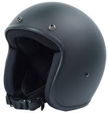 light weight helmet design with old open face retro style