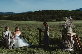 country chic wedding tuscan country chic wedding photography open field ceremony
