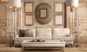 restoration hardware rooms english roll arm 9 u0027 sofa classic