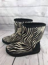 ugg zebra boots sale ugg australia print boots for ebay