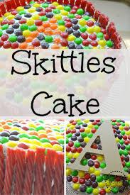best 25 skittles cake ideas on pinterest easy birthday cakes