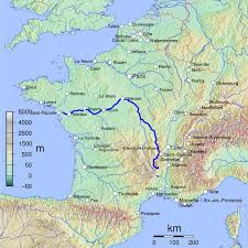 thames river map europe france map with river loire highlighted mappery