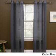 108 Drapery Panels Miller Curtains Preston 108 Inch Sheer Grommet Panel 48