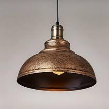 Vintage Pendant Light Fashion Style Pendant Lights Brass Industrial Lighting