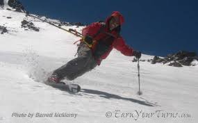 trip report backcountry skiing mt shasta from brewer creek