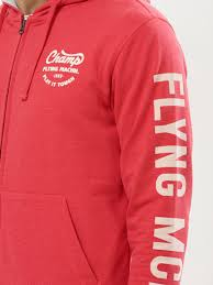 buy hoodie with printed sleeves for men men u0027s red hoodies online