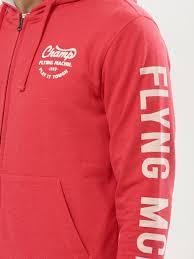 buy hoodie with printed sleeves for men men u0027s red hoodies online