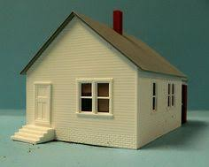victorian house done in styrene scaled siding ho scale model