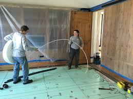 Uneven Wood Floor Radiant Rescue Inadequate And Uneven Floor Heating West