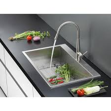 Best Gauge For Kitchen Sink by Ruvati Rvh8000 Drop In Overmount 33