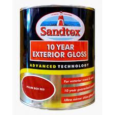 sandtex 10 year exterior gloss paint best exterior house