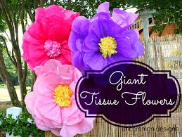 tissue paper flowers printable instructions make the coolest giant tissue paper flowers ever