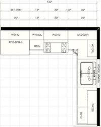 X Kitchen Ideas Standard X Kitchen Cabinet Layout For - Designing kitchen cabinet layout