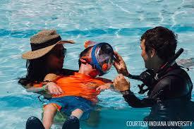 Indiana snorkeling images 2016 sea hero charles beeker begins adaptive scuba program scuba jpg