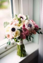 anemones flowers wedding bouquets with anemones in season now brides