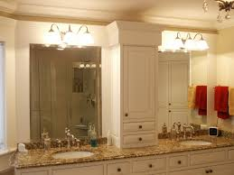 Small Vanity Mirror With Lights Bathroom Cool Home Depot Mirrors Frameless Bathroom Mirror