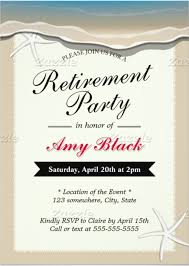 retirement invitation template u2013 15 free psd vector eps ai