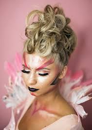 flamingo costume makeup u2013 vivian makeup artist blog
