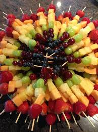 plastic skewers for fruit arrangements craving station beautiful rainbow fruit kabobs dip tie