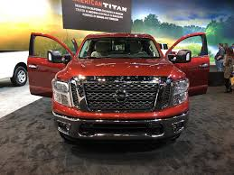 nissan california 2017 2017 nissan titan king cab pickup truck at chicago auto show