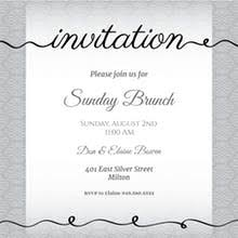 lunch invitation cards free brunch lunch party invitation templates greetings island