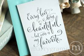 To My Groom On Our Wedding Day Card To My Bride On Our Wedding Day Card U201cevery Love Story U2026 U201d Whimsical