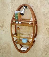 oasis 3 tier classic teak corner shower shelf dt129 teak