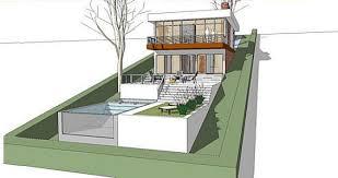 hillside home plans house plans on hillside image of local worship