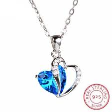 sted necklace sterling silver topaz necklace december birthstone bitters
