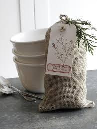 janna lufkin creative christmas hostess backup gifts burlap