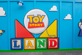 photos toy story land logo and characters appear on construction nearby mr spell has been removed and is rumored to make an appearance in toy story land when it opens