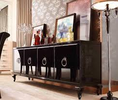 modern buffet table glamour black sideboard modern buffets stations