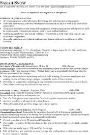Technology Skills Resume Examples by Technical Skills Resume 14848