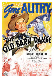 Barn Movie Gene Autry The Old Barn Dance Classic Western Movie By Jangoarts