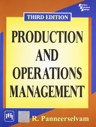 production and operations management r panneerselvam