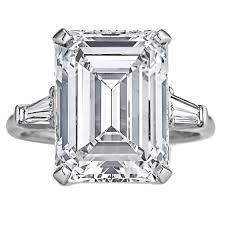 harry winston ring harry winston 7 74 carat internally flawless emerald cut diamond