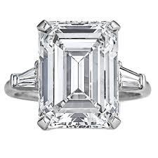 harry winston engagement ring harry winston 7 74 carat internally flawless emerald cut